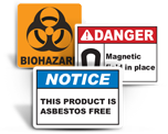 Health Hazard Labels