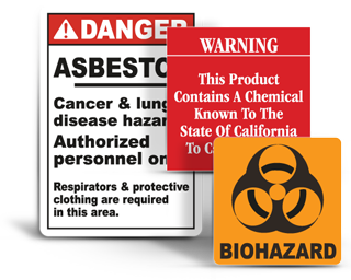 Health Hazard Signs