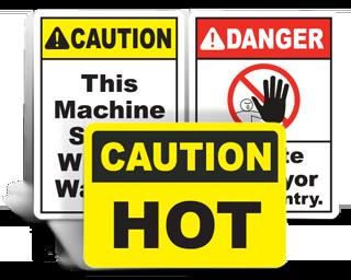 Machine Safety Signs