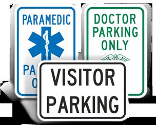 Medical Parking Signs