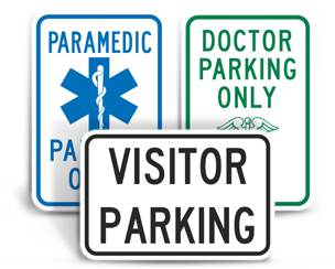 Medical Parking Signs