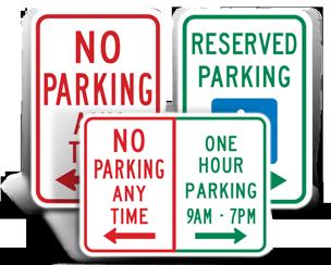 MUTCD Parking Signs