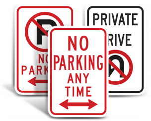 No Parking Signs