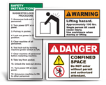 Safety Policy Labels