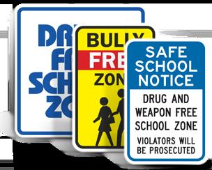 School Property Signs