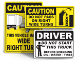 Vehicle Safety Labels