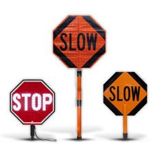 Hand Held Stop Signs