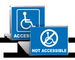 Handicap Accessible Labels