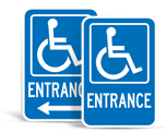 Handicap Accessible Signs