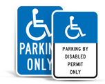 State Handicap Parking Signs