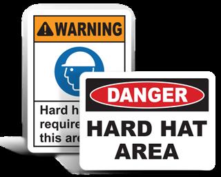Hard Hat Signs