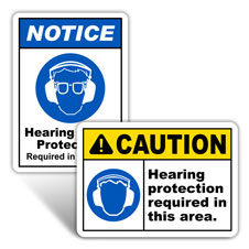 Hearing Protection Signs