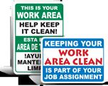 Housekeeping Signs
