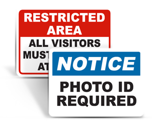 Show ID Signs