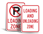 Loading and Unloading Signs