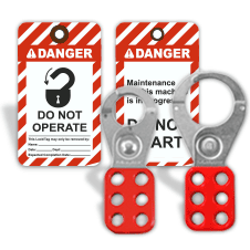 Lockout / Tagout Signs & Devices