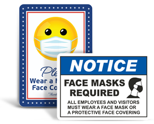 Mask Required Signs