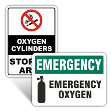 Medical Oxygen Signs