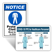 Lab PPE Signs