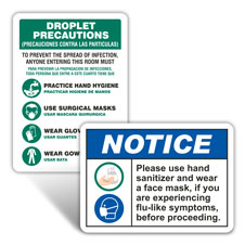 Medical PPE Signs