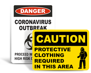 Medical Safety Signs