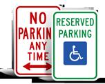 Regulatory Parking Signs