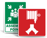 NFPA 170 Connection Signs