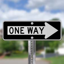 One Way Signs
