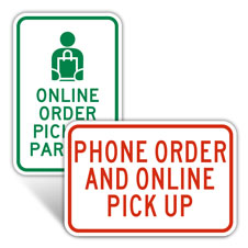 Online Order Parking Signs