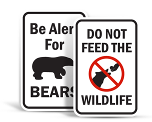 Park and Campground Signs