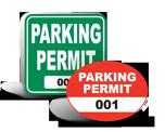 School Parking Stickers