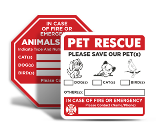 Pet Rescue Stickers