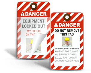 Lockout Tags with Photos