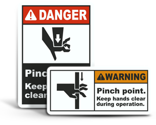 Pinch Point Labels
