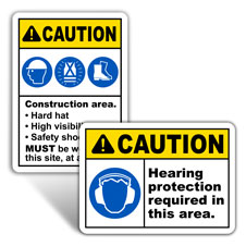 Personal Protection Signs