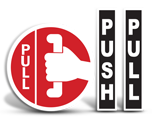 Push / Pull Door Labels