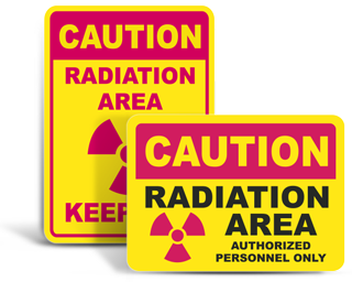 Radiation Safety Signs