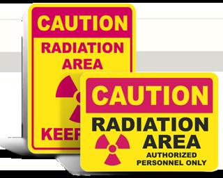 Radiation Warning Signs