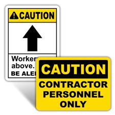 Caution Construction Site Signs
