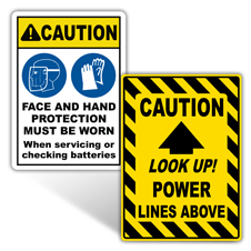 Caution Electrical Safety Signs
