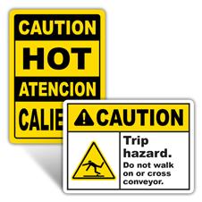 Caution Machine Safety Signs