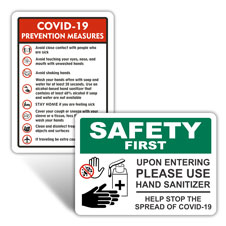 All COVID-19 Signs