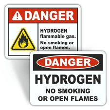 Danger Flammable Labels