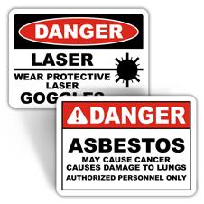 Danger Health Hazard Signs
