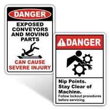 Danger Machine Safety Signs