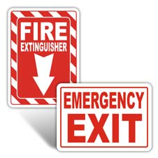 Fire / Exit / Emergency Signs