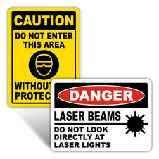 Laser Warning Signs
