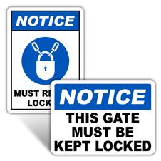 Notice Door Signs