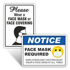 Face Masks Signs