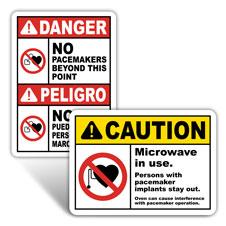MRI Safety Signs